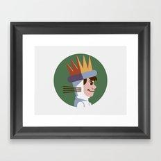 Headgear: Max Framed Art Print