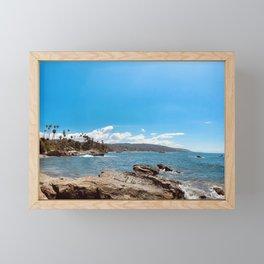 Mother Nature is Flirty Framed Mini Art Print
