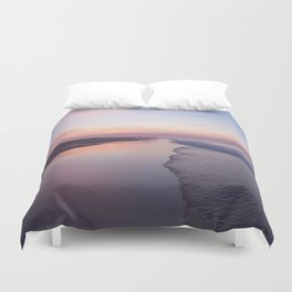 The Hamptons at Dawn Duvet Cover