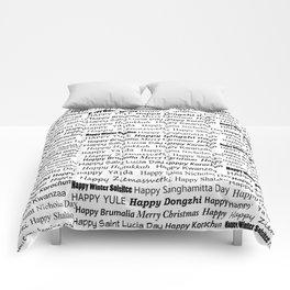 Happy Holidays! Comforters