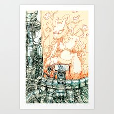 Mewtwo Art Print