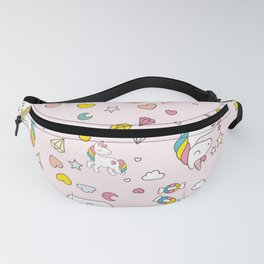 Unicorn Pattern Fanny Pack