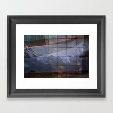 Beside Framed Art Print