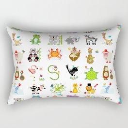 Jungle Bungle Rectangular Pillow