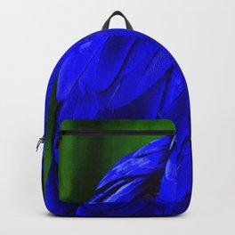 Hyacinth Macaw Indigo Violet Breathtaking Feathers Close-Up Backpack