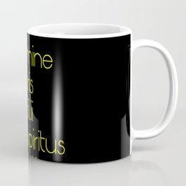In nomine patris et filii et spiritus sancti 2 Coffee Mug