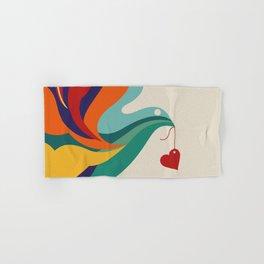 Love Message Hand & Bath Towel