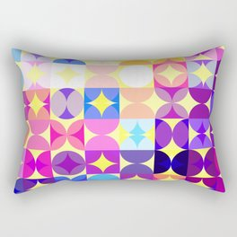 Vivid Pattern IX Rectangular Pillow