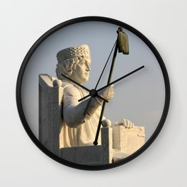 Skopje VIII Wall Clock
