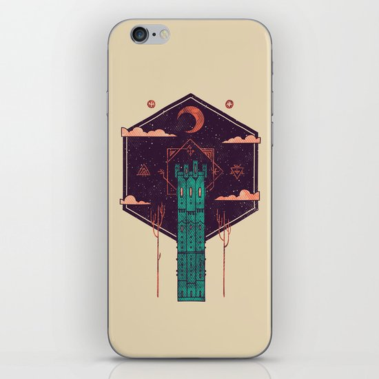 The Tower Azure iPhone & iPod Skin