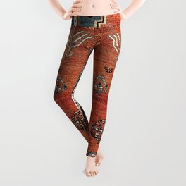 Bakhshaish Azerbaijan Northwest Persian Carpet Print Leggings