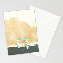 Aerial Lift Bridge - Duluth, MN Stationery Cards