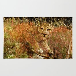 Mountainlioncamo Rug