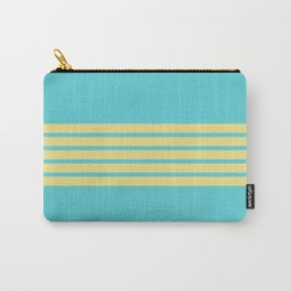 Yellow Rainbow Carry-All Pouch