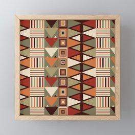 Savanna drums Framed Mini Art Print