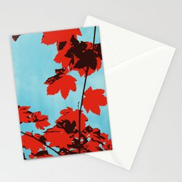 Autumn Clouds Stationery Cards