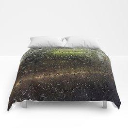 Rainy Morning Commute Comforters