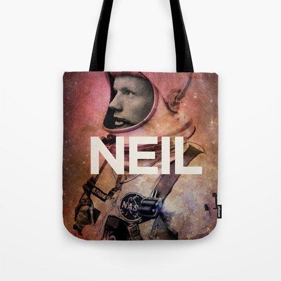 Neil. Tote Bag