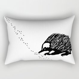 Echidna  (Tachyglossus aculeatus) Rectangular Pillow