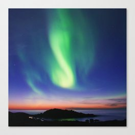 The Northern Lights 01 Canvas Print