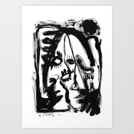 Eternity of a Lifetime - b&w Art Print