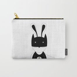 Bunny super hero Carry-All Pouch