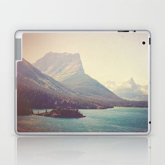 Retro Glacier Laptop & iPad Skin