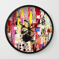 Girl Talk Wall Clock