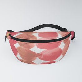 3    | 190408 Red Abstract Watercolour Fanny Pack