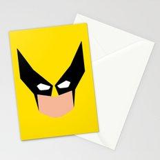 Wolverin e superhero Stationery Cards
