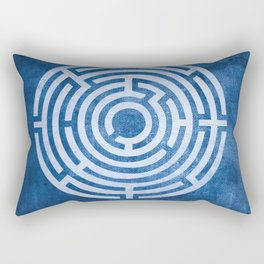 Solving Mazes Rectangular Pillow