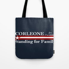 Corleone Standing for Family Tote Bag