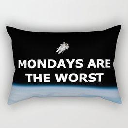 Mondays Are the Worst Rectangular Pillow