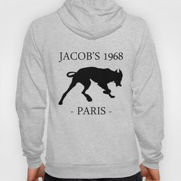 Black Dog II Contour White Jacob's 1968 fashion Paris Hoody