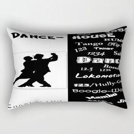 dance house Rectangular Pillow
