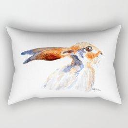The first hare Rectangular Pillow