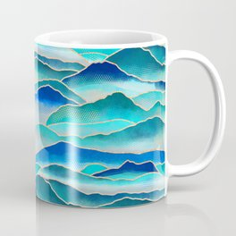 Misty Malibu Mountains  Coffee Mug