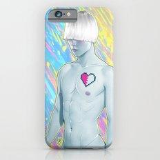 Pixel heart iPhone 6s Slim Case