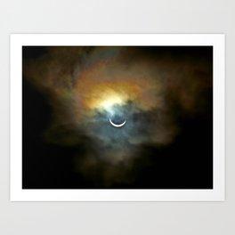 Solar Eclipse II Art Print