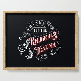 Religious Trauma Serving Tray