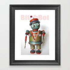BitchBot Framed Art Print