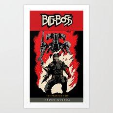 Hellboss Comic Cover Art Print