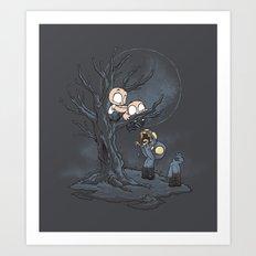 Zombie Integrity Art Print