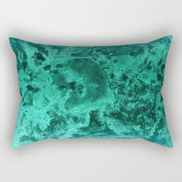Malachite Dream #1 #gem #decor #art #society6 Rectangular Pillow