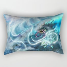 SeaDragon vs Sky Jellyfish Rectangular Pillow