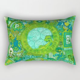 """""""The spark of sloth diversions, influence, friends & self"""" Rectangular Pillow"""