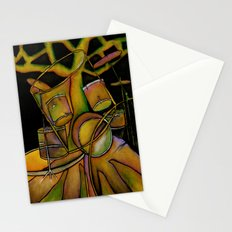 Drums- Rooted Beat Stationery Cards