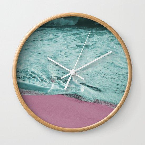 Pop Art High Tide Wall Clock