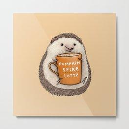 Pumpkin Spike Latte Metal Print