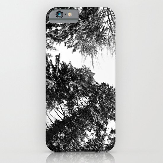 snow + trees iPhone & iPod Case